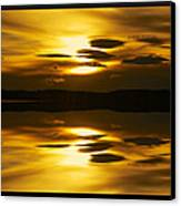 Golden Canvas Print by Kevin Bone