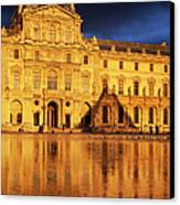 Golden Louvre - Paris Canvas Print