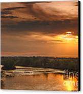 Golden Payette River Canvas Print