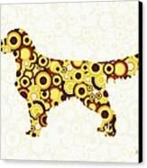 Golden Retriever - Animal Art Canvas Print