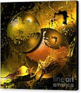 Golden Things Canvas Print by Franziskus Pfleghart