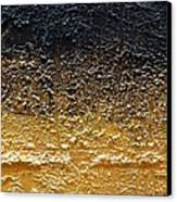 Golden Time - Abstract Canvas Print by Ismeta Gruenwald