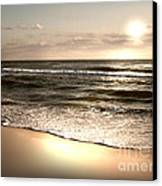 Goldest Shoreline Canvas Print by Jeffery Fagan