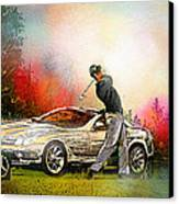Golf In Gut Laerchehof Germany 03 Canvas Print