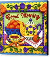 Good Morning Canvas Print by Amy Vangsgard