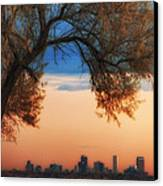 Good Morning Denver Canvas Print by Darren  White
