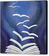 Good News Bible Canvas Print by Richard Van Order