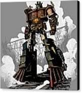Good Robot Canvas Print by Brian Kesinger