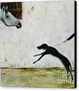 Good To See You Again Canvas Print by Xueling Zou