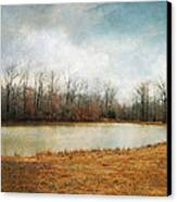 Goodbye Autumn Canvas Print by Jai Johnson