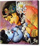 Gopalji Canvas Print by Lila Shravani