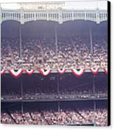 Gorgeous View Of Old Yankee Stadium Canvas Print