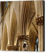 Gothic Arches II Canvas Print by Dick Wood
