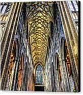 Gothic Architecture Canvas Print by Adrian Evans