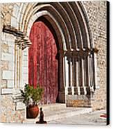 Gothic Portal Canvas Print by Jose Elias - Sofia Pereira