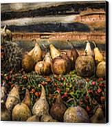 Gourds Canvas Print by Debra and Dave Vanderlaan
