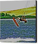 Gr8 Lift Canvas Print by Joseph Coulombe