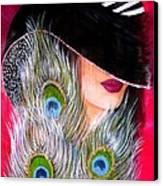 Grace Canvas Print by Sonya Ragyovska
