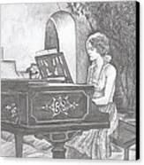 Grace's Escape Canvas Print