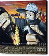 Graffiti Art Curitiba Brazil 10 Canvas Print
