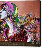Graffiti Art Curitiba Brazil 15 Canvas Print