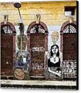 Graffiti Art Recife Brazil 20 Canvas Print