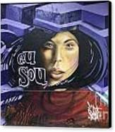 Graffiti Art Rio De Janeiro 3 Canvas Print