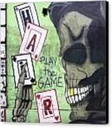 Graffiti Art Rio De Janeiro 4 Canvas Print