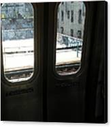 Graffiti From Subway Train Canvas Print