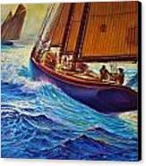 Grand Banks Fishermen Canvas Print