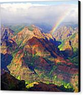 Grand Canyon Of The Pacific Canvas Print by Kevin Smith