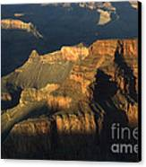 Grand Canyon Symphony Of Light And Shadow Canvas Print by Bob Christopher