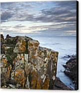 Grand Marais Cliffs Canvas Print