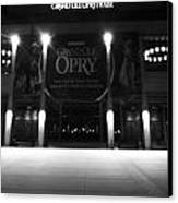 Grand Ole Opry At Night Canvas Print by Dan Sproul