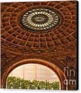 Grand Rotunda Pennsylvanian Pittsburgh Canvas Print