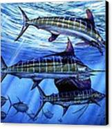 Grand Slam Lure And Tuna Canvas Print