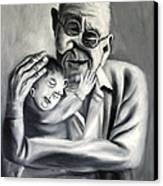 Grandpa Canvas Print by Anthony Falbo