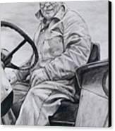 Grandpa Canvas Print by Joy Nichols