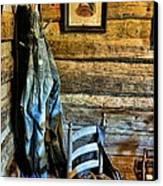Grandpa's Closet Canvas Print