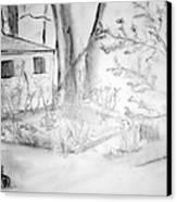 Granpa's Backyard IIi Canvas Print