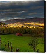 Grassy Cove Tennessee Canvas Print by Paul Herrmann