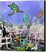 Grateful Friends Canvas Print by Betsy Knapp