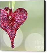 Grateful Heart Canvas Print by Brenda Schwartz