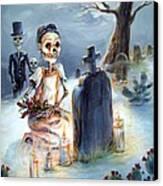 Grave Sight Canvas Print