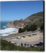 Gray Whale Cove State Beach Montara California 5d22616 Canvas Print by Wingsdomain Art and Photography