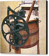 Great-grandmother's Washing Machine Canvas Print