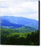 Great Smoky Mountains Canvas Print by Christi Kraft