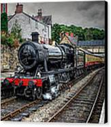 Great Western Locomotive Canvas Print