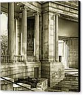 Greek Theatre 7 Golden Age Canvas Print by Angelina Vick
