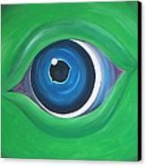 Green Beast Canvas Print by Sven Fischer